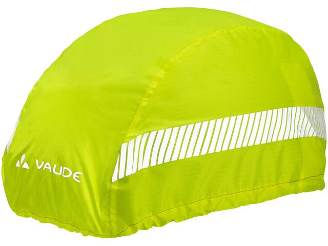 VAUDE Luminum Pokrowiec przeciwdeszczowy na kask, neon yellow
